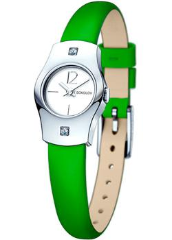 fashion наручные  женские часы Sokolov 123.30.00.001.04.08.2. Коллекция Why Not