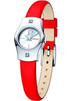 fashion наручные  женские часы Sokolov 123.30.00.001.05.03.2. Коллекция Why Not