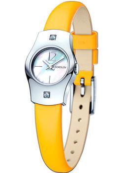fashion наручные  женские часы Sokolov 123.30.00.001.05.04.2. Коллекция Why Not