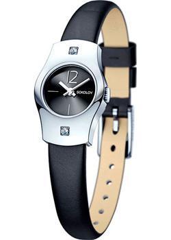 fashion наручные  женские часы Sokolov 123.30.00.001.06.01.2. Коллекция Why Not