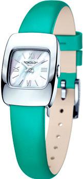 fashion наручные  женские часы Sokolov 124.30.00.000.02.07.2. Коллекция Why Not