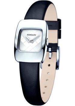 fashion наручные  женские часы Sokolov 124.30.00.000.04.01.2. Коллекция Why Not