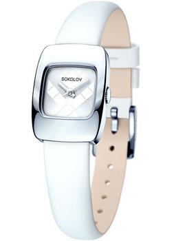 fashion наручные  женские часы Sokolov 124.30.00.000.04.02.2. Коллекция Why Not