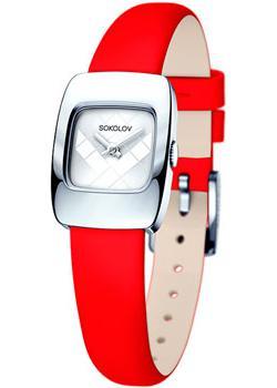 fashion наручные  женские часы Sokolov 124.30.00.000.04.03.2. Коллекция Why Not
