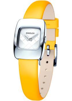 fashion наручные  женские часы Sokolov 124.30.00.000.04.04.2. Коллекция Why Not