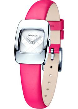 fashion наручные  женские часы Sokolov 124.30.00.000.04.05.2. Коллекция Why Not