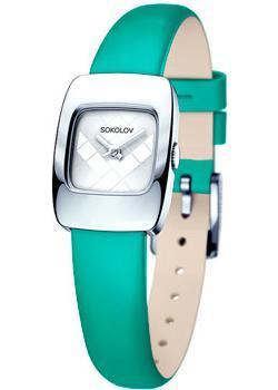fashion наручные  женские часы Sokolov 124.30.00.000.04.07.2. Коллекция Why Not