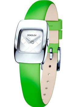 fashion наручные  женские часы Sokolov 124.30.00.000.04.08.2. Коллекция Why Not