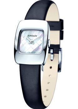 fashion наручные  женские часы Sokolov 124.30.00.000.05.01.2. Коллекция Why Not