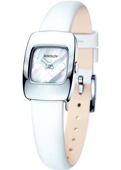 fashion наручные  женские часы Sokolov 124.30.00.000.05.02.2. Коллекция Why Not