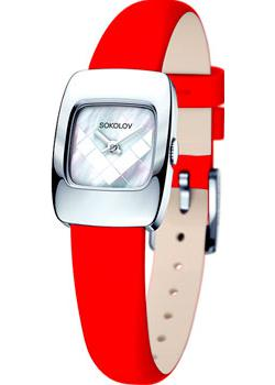 fashion наручные  женские часы Sokolov 124.30.00.000.05.03.2. Коллекция Why Not