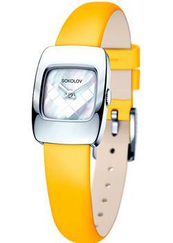 fashion наручные  женские часы Sokolov 124.30.00.000.05.04.2. Коллекция Why Not