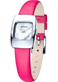fashion наручные  женские часы Sokolov 124.30.00.000.05.05.2. Коллекция Why Not