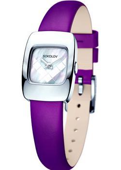 fashion наручные  женские часы Sokolov 124.30.00.000.05.06.2. Коллекция Why Not