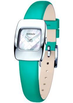 fashion наручные  женские часы Sokolov 124.30.00.000.05.07.2. Коллекция Why Not