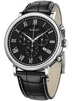 fashion наручные  мужские часы Sokolov 125.30.00.000.02.01.3. Коллекция Motion.