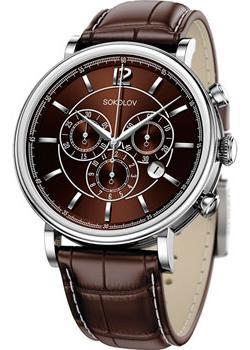 fashion наручные  мужские часы Sokolov 125.30.00.000.06.02.3. Коллекция Motion.