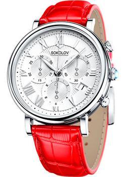fashion наручные  женские часы Sokolov 126.30.00.000.01.03.2. Коллекция Feel Free