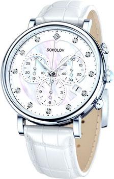 fashion наручные  женские часы Sokolov 126.30.00.000.03.02.2. Коллекция Feel Free
