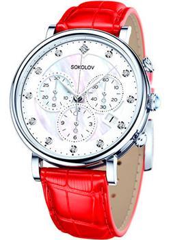 fashion наручные  женские часы Sokolov 126.30.00.000.03.03.2. Коллекция Feel Free