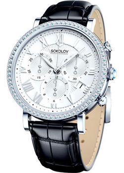 fashion наручные  женские часы Sokolov 127.30.00.001.01.01.2. Коллекция Feel Free