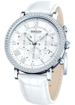 fashion наручные  женские часы Sokolov 127.30.00.001.01.02.2. Коллекция Feel Free