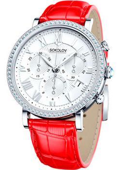 fashion наручные  женские часы Sokolov 127.30.00.001.01.03.2. Коллекция Feel Free