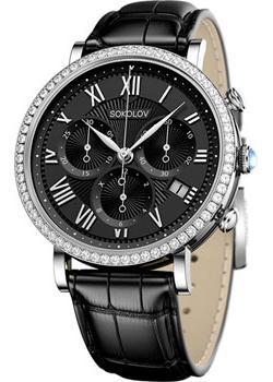 fashion наручные  женские часы Sokolov 127.30.00.001.02.01.2. Коллекция Feel Free