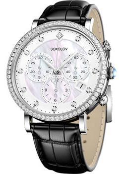fashion наручные  женские часы Sokolov 127.30.00.001.03.01.2. Коллекция Feel Free