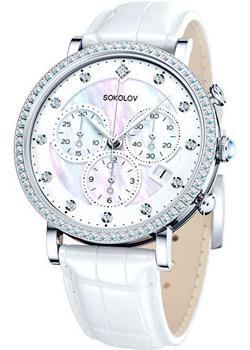 fashion наручные  женские часы Sokolov 127.30.00.001.03.02.2. Коллекция Feel Free