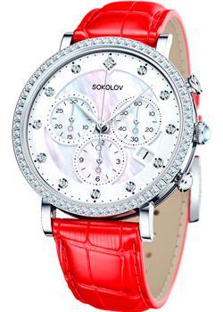fashion наручные  женские часы Sokolov 127.30.00.001.03.03.2. Коллекция Feel Free