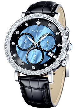 fashion наручные  женские часы Sokolov 127.30.00.001.04.01.2. Коллекция Feel Free