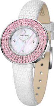 fashion наручные  женские часы Sokolov 128.30.00.002.01.01.2. Коллекция Imagine