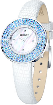fashion наручные  женские часы Sokolov 128.30.00.003.01.01.2. Коллекция Imagine