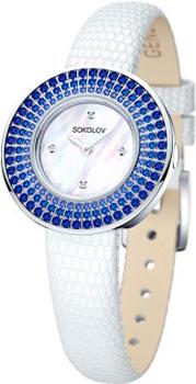 fashion наручные  женские часы Sokolov 128.30.00.007.01.01.2. Коллекция Imagine