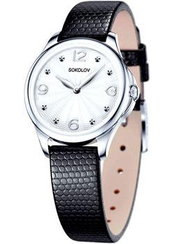 fashion наручные  женские часы Sokolov 136.30.00.000.01.01.2. Коллекция Flirt