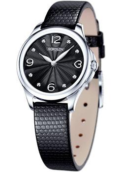 fashion наручные  женские часы Sokolov 136.30.00.000.02.01.2. Коллекция Flirt