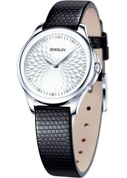 fashion наручные  женские часы Sokolov 136.30.00.000.03.01.2. Коллекция Flirt