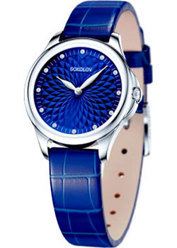 fashion наручные  женские часы Sokolov 136.30.00.000.04.04.2. Коллекция Flirt