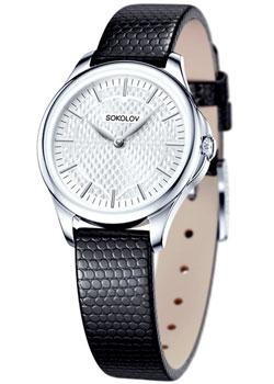 fashion наручные  женские часы Sokolov 136.30.00.000.05.01.2. Коллекция Flirt