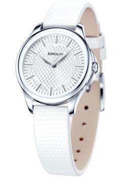 fashion наручные  женские часы Sokolov 136.30.00.000.05.02.2. Коллекция Flirt