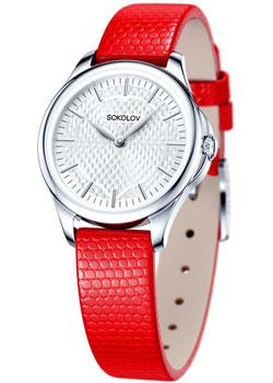 fashion наручные  женские часы Sokolov 136.30.00.000.05.03.2. Коллекция Flirt