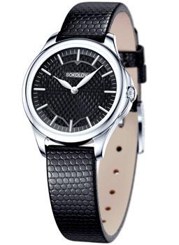 fashion наручные  женские часы Sokolov 136.30.00.000.06.01.2. Коллекция Flirt