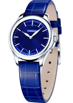 fashion наручные  женские часы Sokolov 136.30.00.000.07.04.2. Коллекция Flirt