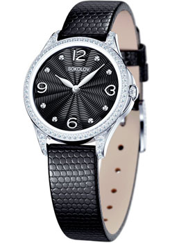 fashion наручные  женские часы Sokolov 137.30.00.001.02.01.2. Коллекция Flirt
