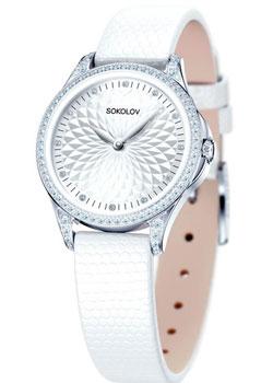 fashion наручные  женские часы Sokolov 137.30.00.001.03.02.2. Коллекция Flirt