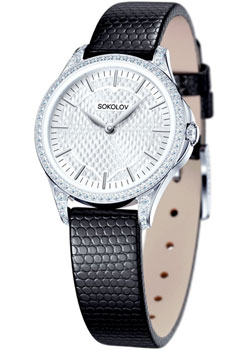 fashion наручные  женские часы Sokolov 137.30.00.001.05.01.2. Коллекция Flirt