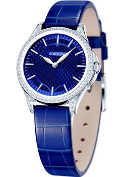fashion наручные  женские часы Sokolov 137.30.00.001.07.04.2. Коллекция Flirt