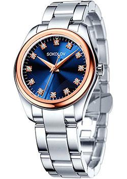fashion наручные  женские часы Sokolov 140.01.71.000.05.01.2. Коллекция Unity