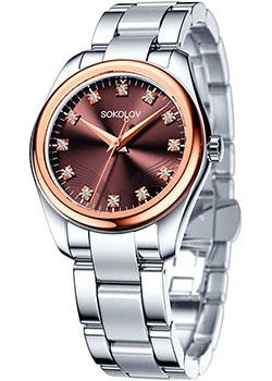 fashion наручные  женские часы Sokolov 140.01.71.000.06.01.2. Коллекция Unity